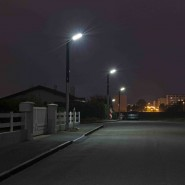 Solar stand alone street lighting